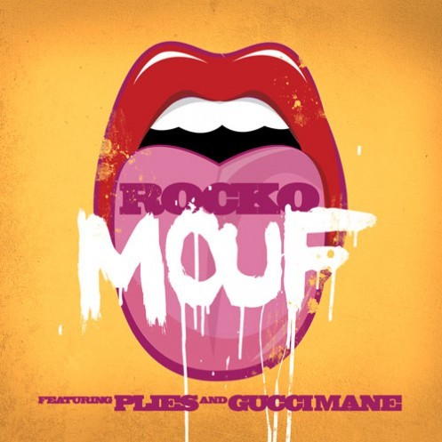 Rocko decides to release this new record 'Mouf' and is joined by Plies and Gucci Mane.To listen and read more click the image or [here].