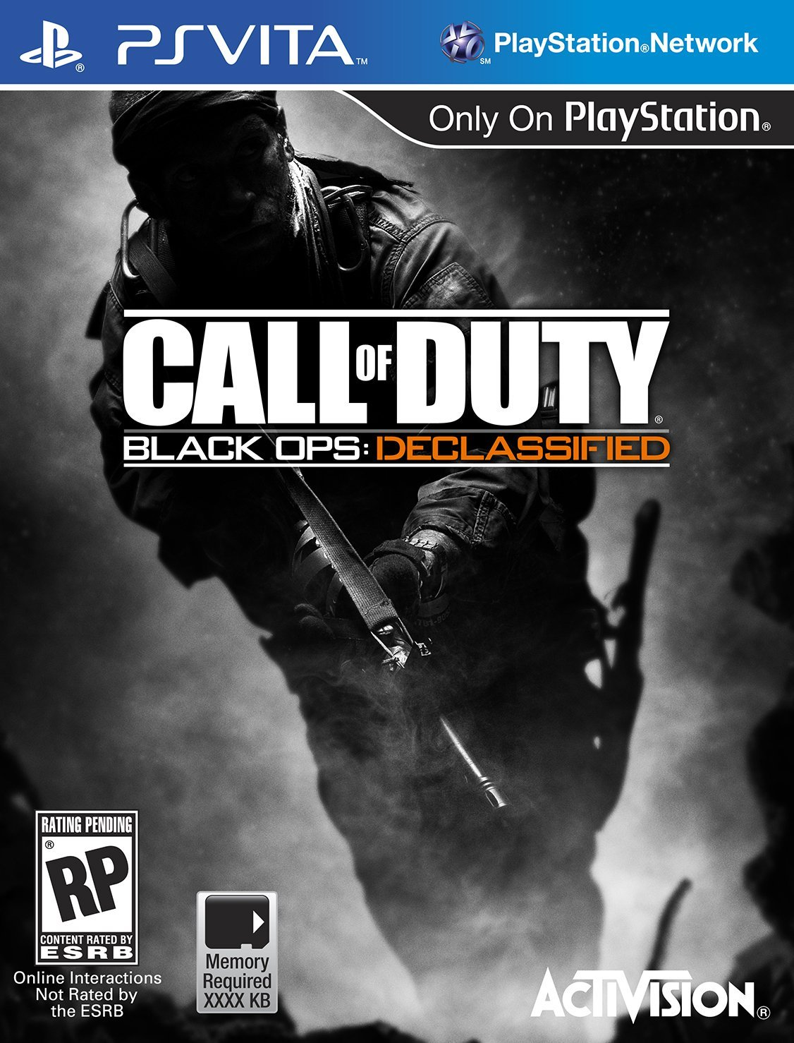 gamefreaksnz:  Call of Duty Vita details, box art leaked by Walmart  A listing on Wal-mart has unveiled initial details on upcoming Vita title Call of Duty Black Ops: Declassified.