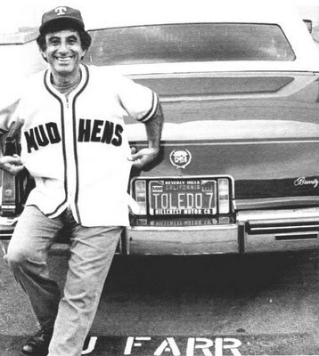 Corporal Klinger was a fan of the Toledo Mud Hens. This is important.  He was even given a bobblehead, which is even more important.   I'm not sure what this says about the horrors of war, or the awesomeness of the minor leagues, but it says something. That I know.