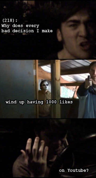 textsfromtheoperator:  The Marble Hornets Youtube channel was created three years ago today, and this is totally a three year anniversary post!  Keep rockin', guys. Coincidentally, this is also Text From the Operator's 300th post.