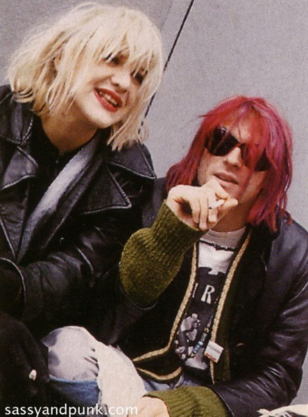 Courtney Love & Kurt Cobain