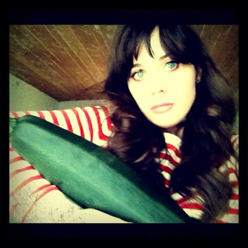 zooeydeschanel:  As dirty as this sounds, this was growing in my garden. But seriously, this was growing in my garden. (Taken with Instagram)