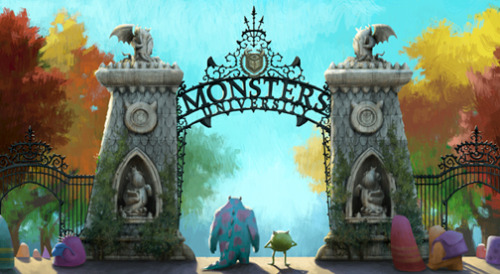 Take A Peek At The First Piece of Concept Art From MONSTERS UNIVERSITY. Read More »