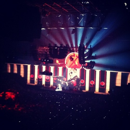 Roger Waters #machinegun (Taken with Instagram)