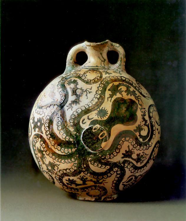 composition-improvisation:  Octopus Vase