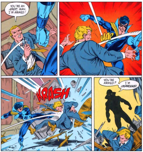 Nightwing is HARDCORE!