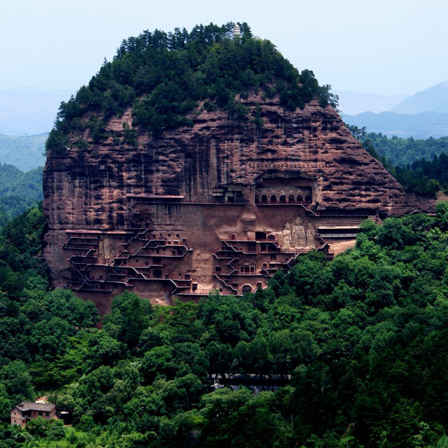 homedesigning:  Maijishan Caves @ Tianshui, China