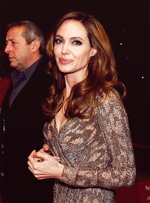 simplyjolie:  'Blood and Honey' Berlin premiere (Feb. 11, 2012)