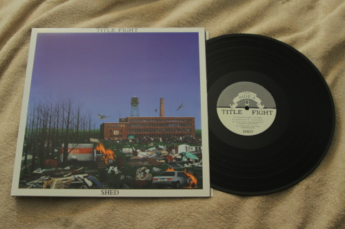 nathanbarkanic:  TITLE FIGHT- Shed (1st Press) Black / 1400