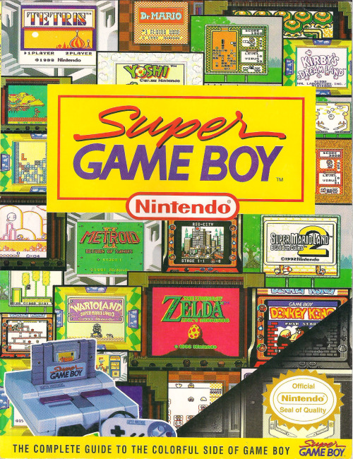 imremembering:  Super Gameboy