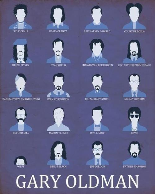 The many faces of Gary Oldman