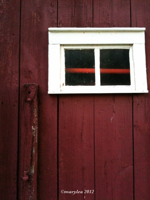 June 9, 2012. Red Barn detail.
