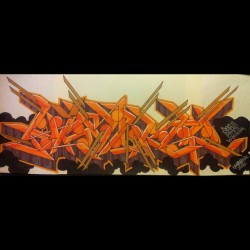 @fabian562 #art #graffiti #blackbook #orange #black #big #toker #chapstick #names #markers #prismacolor #followme #follow #2012 #facebook #tumblr #twitter (Taken with Instagram)