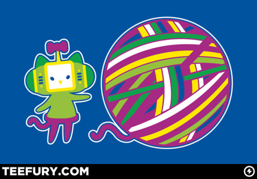it8bit:  Hello Catamari!  Created by Drew Wise  Limited Edition T-Shirt is on sale for $10.00 from TeeFury for 24 hours only!   Oh my gwad!