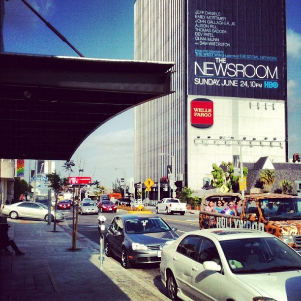 Downtown LA #LA #absoul #keyclub (Taken with Instagram)
