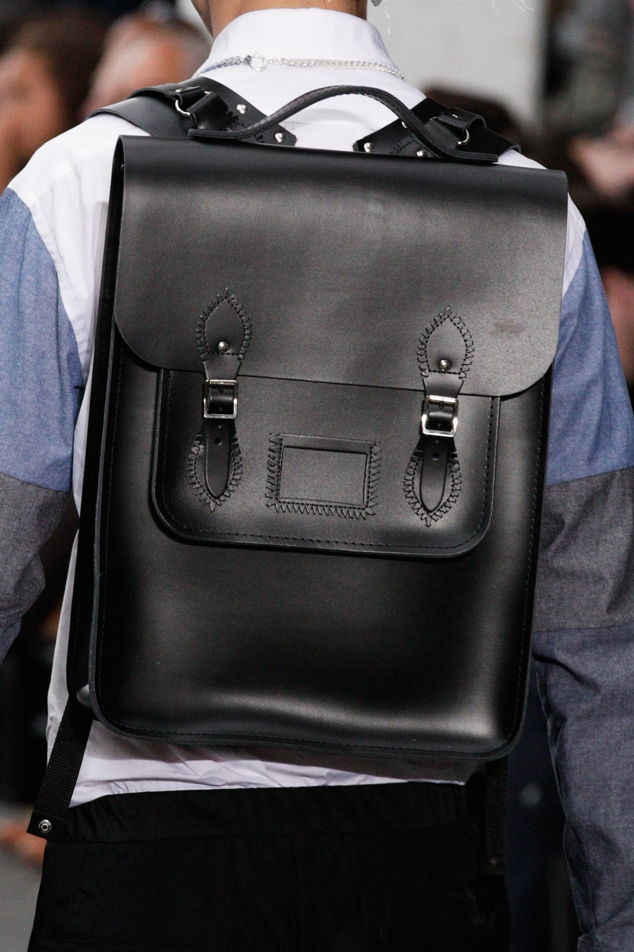 【CAMBRIDGE SATCHEL COMPANY X CHRISTOPHER SHANNON 2013 SPRING/SUMMER BACKPACK】 TRENDSPOT 详情