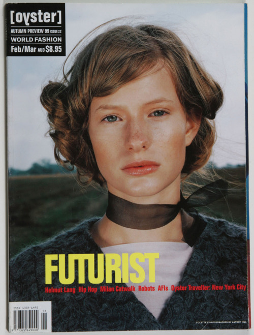 oystermag:  100 Covers: Oyster #22 (Autumn 1999)