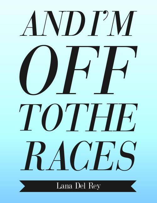 dammmien:  Off to the Races