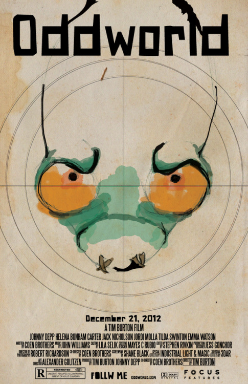pacalin:  Oddworld Movie Poster Created by Danielle Voigt