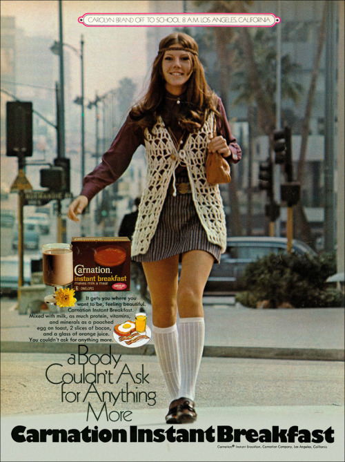 Carnation Instant Breakfast Gets You Where You Want to Be, 1970 (by MewDeep)