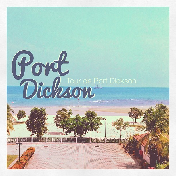 Now at Port Dickson. #traveling #tour #sea #seabeach #hotel #beach #resort #malaysia #portdickson #holiday #summer #instagram #retro #vintage #leisure #enjoy #hot #swim   (Taken with Instagram at Bayu Beach Resort)