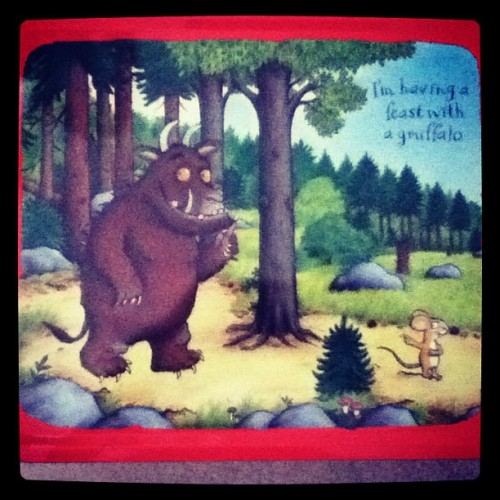 I have a love for collecting #cute #tinlunchboxes and this #gruffalo one is my fav so far (Taken with Instagram)