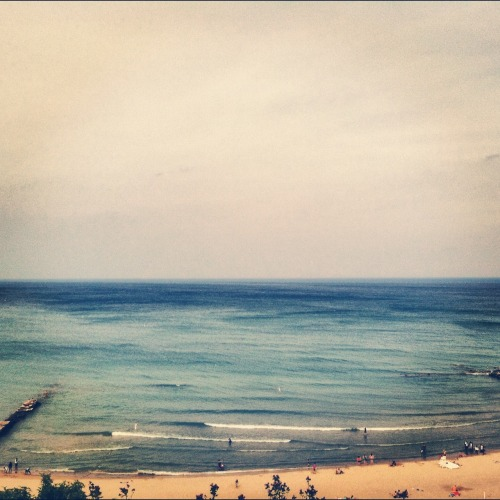 theseaward:  Lake Michigan. The only redeeming part of my home town.