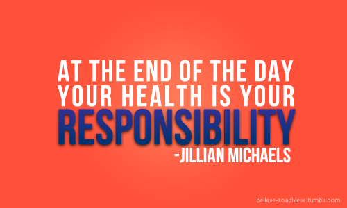 fit-girls-look-good-naked:  Your health is your responsibility.