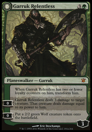 I Hit It With My Axe! • The evolution of Garruk ... Planeswalker Activated Ability