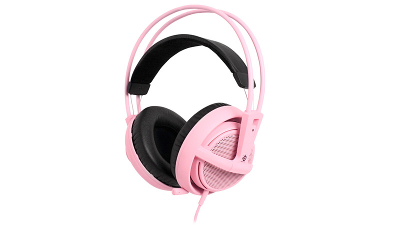 Daily dose of Pink.  Siberia v2 Headset in Pink.