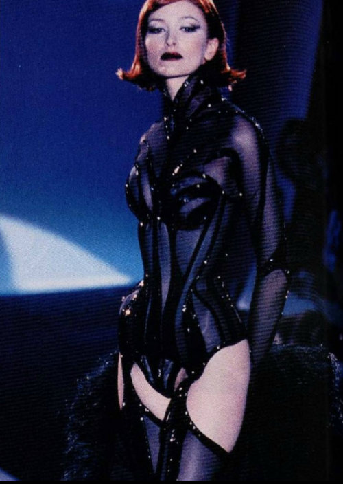 somethingvain:  Thierry Mugler Haute Couture S/S 1998