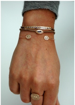 STYLE: Dainty jewelry, particularly bracelets, are my favourite right now.