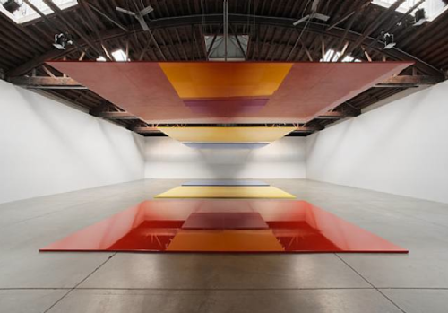 artnet:  Robert Irwin At Pace Gallery If you haven't made it to Robert Irwin's Dotting the i's & Crossing the t's: Part I at Pace Gallery, due to close on June 23, you've now got a few more weeks to see it as the gallery just announced that it's extending the show until July 17, 2012.  This is the first in a two-part exhibition exploring the seminal themes that have defined Irwin's six-decade career, with the second arriving in September.  View Pace Gallery inventory and coming shows here.