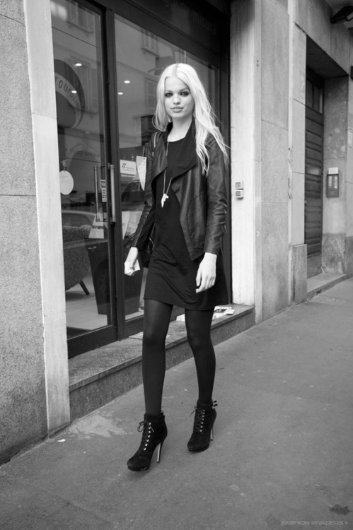 chanel-is-black-and-white:  Daphne Groeneveld