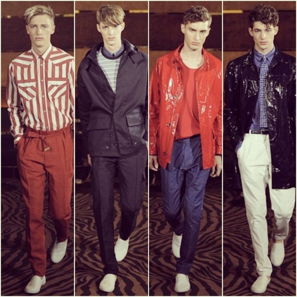 Favourite looks from Joseph Abboud, London Collections.