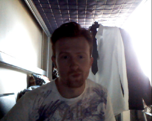Got my hair cut! Its so weird! Crap photo though! Going to have a bath then shave.