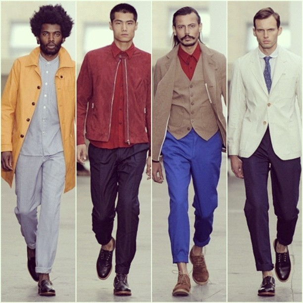 Favourite looks from Oliver Spencer, London Collections.