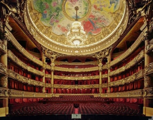 homedesigning:  Fascinating Opera Houses Interiors Photographed by David Leventi