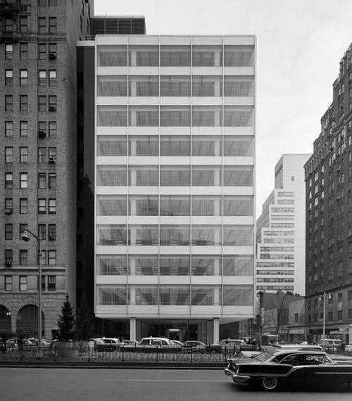 n-architecture:  Pepsi Cola Building, Skidmore, Owings & Merrill, New York, NY, 1960