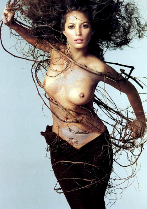 Christy Turlington by Richard Avedon for the Pirelli Calendar, 1995