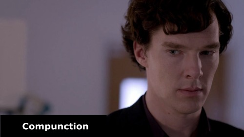 Analysing Benedict in over 200 pics -> The chemistry of feelings  Sherlock -The Reichenbach Fall. I'm sorry John, for having to do this to you.