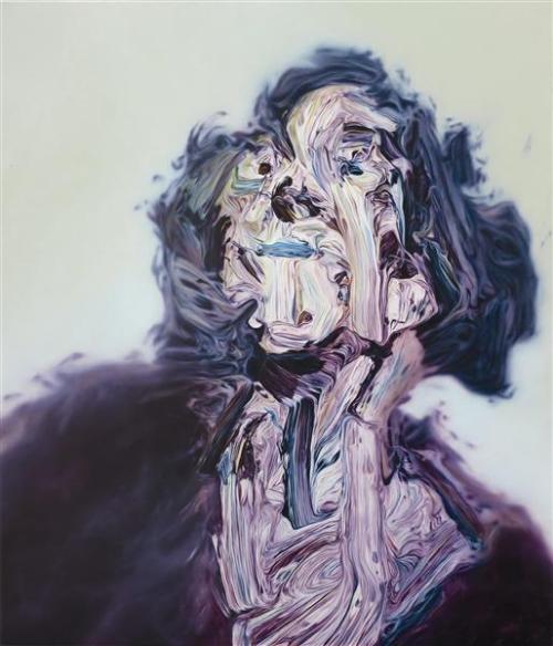 poboh:  The Mistress of Breadalbane, Glenn Brown. English, born in 1966.