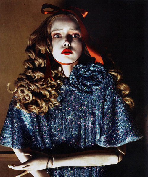 "voguelovesme:  ""I'm a Marionette,"" photographed by Mert & Marcus for POP (S/S 2007)"