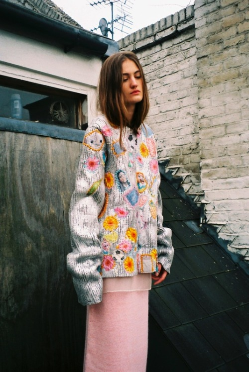 rebeccalily:  annelise armitage's csm graduate collection shot by masha mel