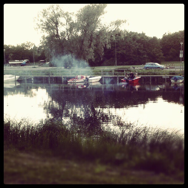 Smoke on the water! (Taken with Instagram)