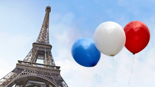 portailblog:  Tour Eiffel et ballons tricolores : Hello from France ;) Frédéric