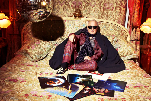 LEGENDARY PRODUCER, SONGWRITER, COMPOSER GIORGIO MORODER FOR L'UOMO VOGUE. PARIS. APRIL 2012 LISTEN TO ONE OF HIS GREATEST CREATIONS HERE Photo: Dylan Don
