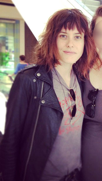 Kate Moennig, Beverly Center, L.A., june 19th 2012.