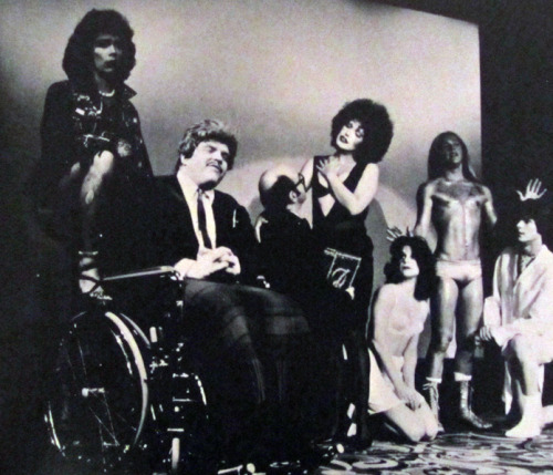 "The Rocky Horror Show | 1974 Original Roxy Cast (American Premiere production) ""Eddie's Teddy"" - feat. Meat Loaf, Tim Curry, Graham Jarvis, Jamie Donnelly, Abigale Haness, Kim Milford, and B. Miller."