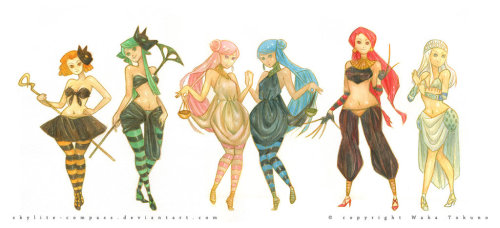 prettysailorsenshi:  Witches 5 by *skylite-compass